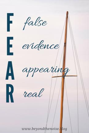 FEAR Pin
