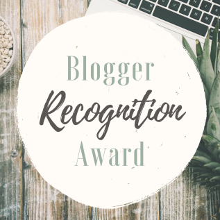 Blogger Recognition Award IG
