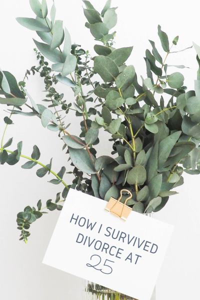 How I Survived Divorce At 25- Blog